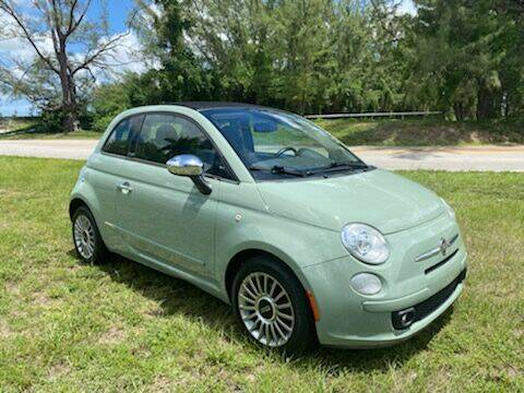 2012 FIAT 500c for sale at Nation Autos Miami in Hialeah FL