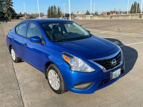 2017 Nissan Versa for sale at Rave Auto Sales in Corvallis OR