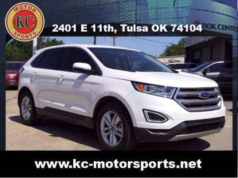 2016 Ford Edge for sale at KC MOTORSPORTS in Tulsa OK