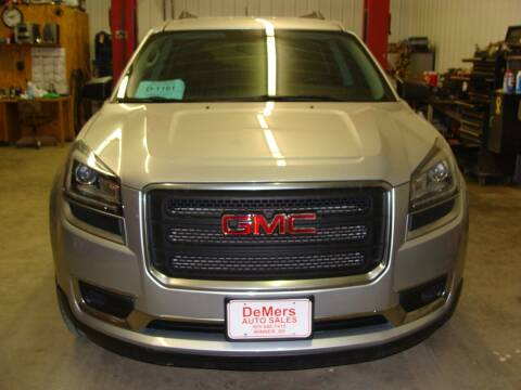 2015 GMC Acadia for sale at DeMers Auto Sales in Winner SD