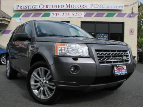 2009 Land Rover LR2 for sale at Prestige Certified Motors in Falls Church VA