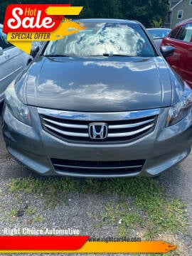 2012 Honda Accord for sale at Right Choice Automotive in Rochester NY