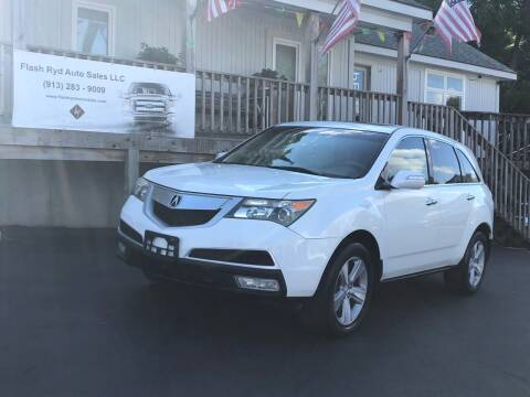 2010 Acura MDX for sale at Flash Ryd Auto Sales in Kansas City KS