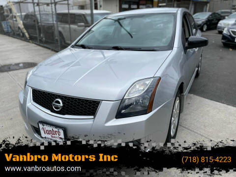 2012 Nissan Sentra for sale at Vanbro Motors Inc in Staten Island NY