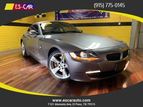 2007 BMW Z4 for sale at Escar Auto - 9809 Montana Ave Lot in El Paso TX