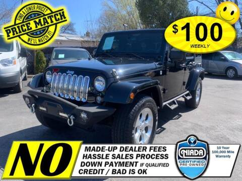 2014 Jeep Wrangler Unlimited for sale at AUTOFYND in Elmont NY