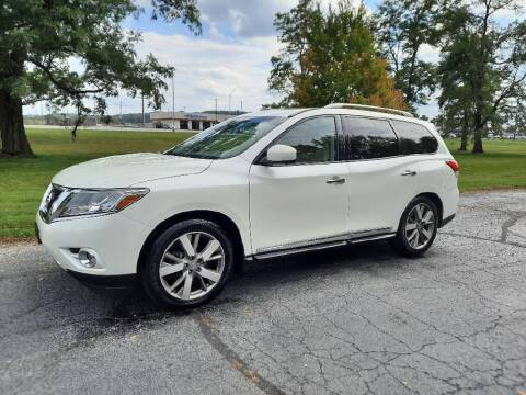 2015 Nissan Pathfinder for sale at Moundbuilders Motor Group in Heath OH