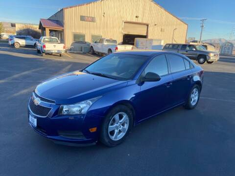 2013 Chevrolet Cruze for sale at Auto Image Auto Sales in Pocatello ID