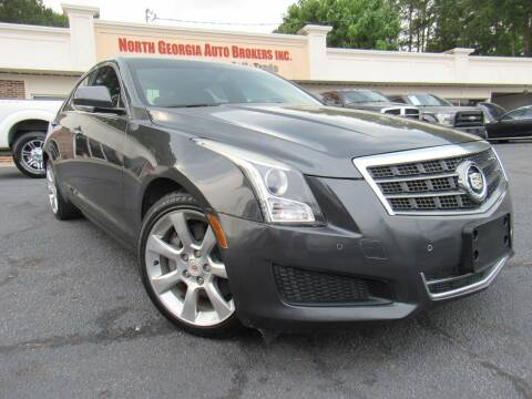 2014 Cadillac ATS for sale at North Georgia Auto Brokers in Snellville GA