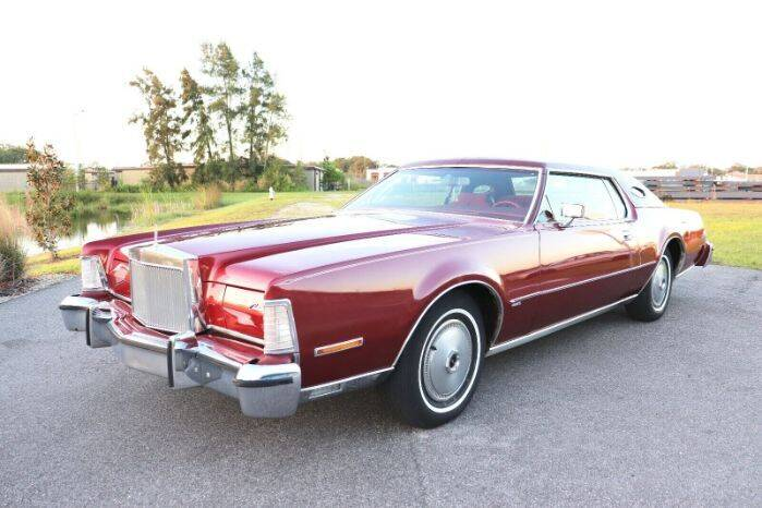 1974 Lincoln Continental for sale in Cadillac, MI