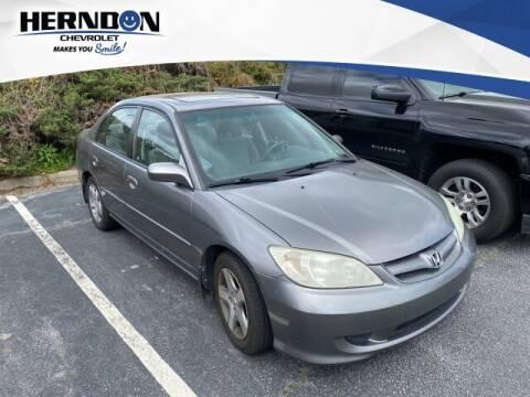 2004 Honda Civic for sale at Herndon Chevrolet in Lexington SC