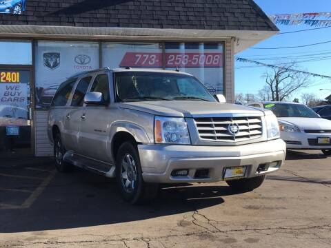 2005 Cadillac Escalade ESV for sale at TOP YIN MOTORS in Mount Prospect IL