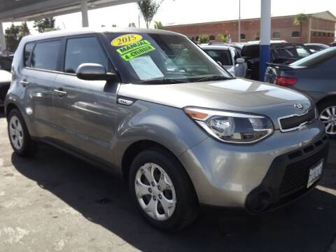 2015 Kia Soul for sale at PACIFICO AUTO SALES in Santa Ana CA