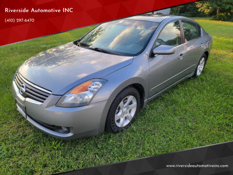 2009 Nissan Altima for sale at Riverside Automotive INC in Aberdeen MD