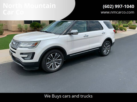 2016 Ford Explorer for sale at North Mountain Car Co in Phoenix AZ