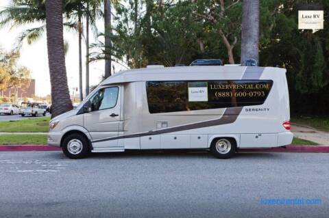 2015 Mercedes-Benz Leisure Serenity for sale at Luxe RV Center in Los Angeles CA