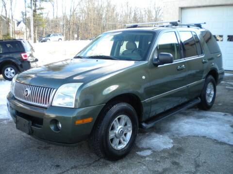 2003 Mercury Mountaineer for sale at Route 111 Auto Sales in Hampstead NH
