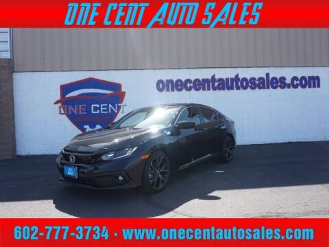 2020 Honda Civic for sale at One Cent Auto Sales in Glendale AZ