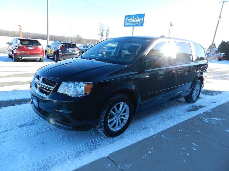 2014 Dodge Grand Caravan for sale at Leitheiser Car Company in West Bend WI