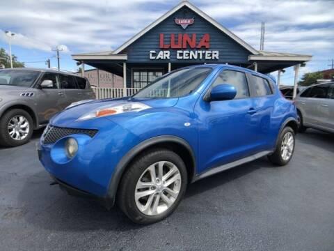 2012 Nissan JUKE for sale at LUNA CAR CENTER in San Antonio TX
