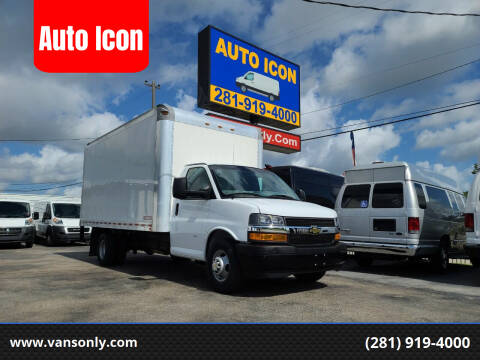 2019 Chevrolet Express Cutaway for sale at Auto Icon in Houston TX