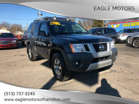 2013 Nissan Xterra for sale at Eagle Motors in Hamilton OH