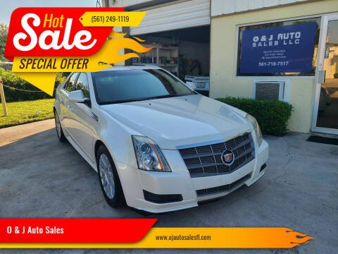 2010 Cadillac CTS for sale at O & J Auto Sales in Royal Palm Beach FL