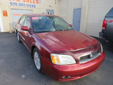 2003 Subaru Legacy for sale at Small Town Auto Sales in Hazleton PA