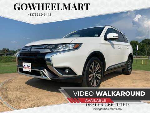2019 Mitsubishi Outlander for sale at GOWHEELMART in Leesville LA