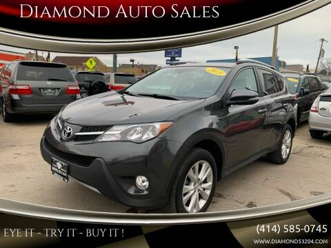 2015 Toyota RAV4 for sale at Diamond Auto Sales in Milwaukee WI