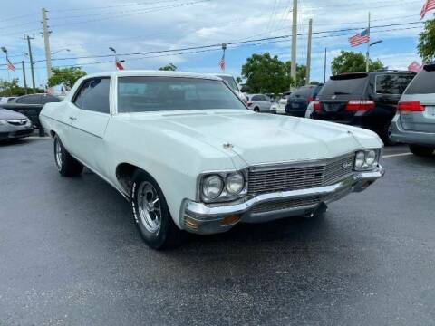 1970 Chevrolet Impala for sale at Classic Car Deals in Cadillac MI