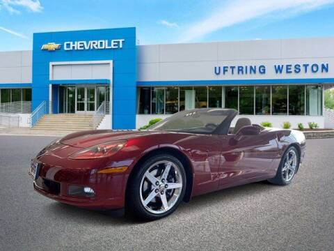 2007 Chevrolet Corvette for sale at Uftring Weston Pre-Owned Center in Peoria IL