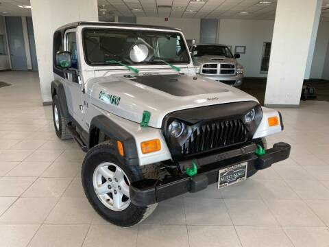 2004 Jeep Wrangler for sale at Auto Mall of Springfield in Springfield IL