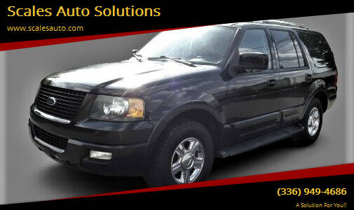 2006 Ford Expedition for sale at Scales Auto Solutions in Madison NC