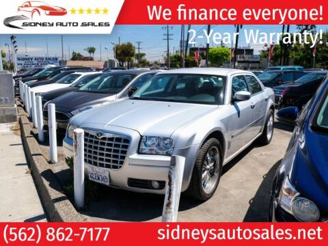 2009 Chrysler 300 for sale at Sidney Auto Sales in Downey CA