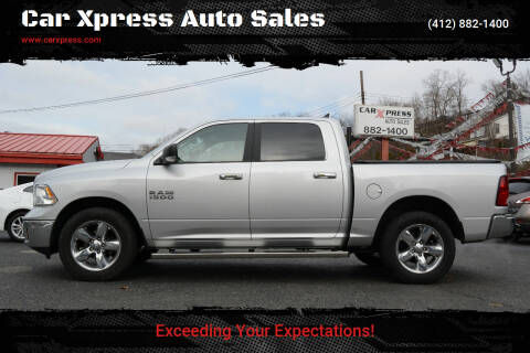 2017 RAM Ram Pickup 1500 for sale at Car Xpress Auto Sales in Pittsburgh PA