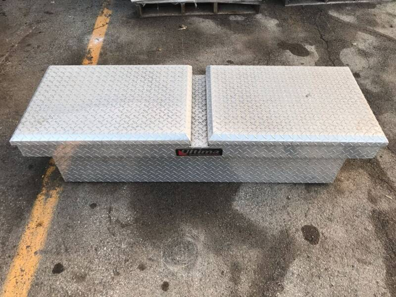 2011 Lund Ultima Gull Winged Truck GULL WINGEDPICKUP BED TOOL BOX for sale at ACE HARDWARE OF ELLSWORTH dba ACE EQUIPMENT in Canfield OH