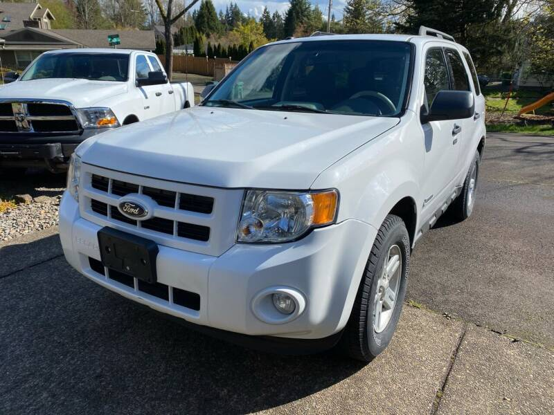 2010 Ford Escape Hybrid for sale at Bridgeport Auto Group in Portland OR