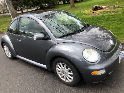 2004 Volkswagen New Beetle for sale at Blue Line Auto Group in Portland OR