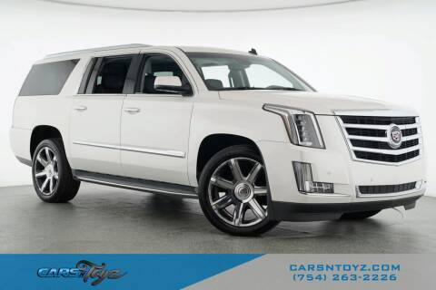 2015 Cadillac Escalade ESV for sale at JumboAutoGroup.com - Carsntoyz.com in Hollywood FL