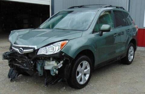 2016 Subaru Forester for sale at Kenny's Auto Wrecking in Lima OH