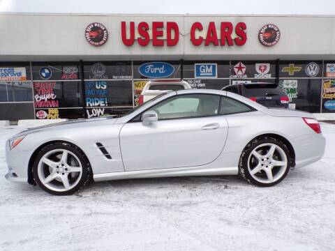 2015 Mercedes-Benz SL-Class for sale at Ford Road Motor Sales in Dearborn MI