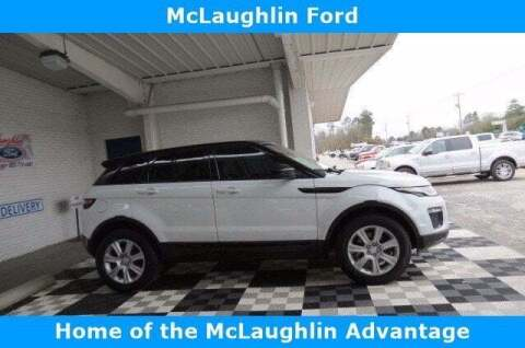 2017 Land Rover Range Rover Evoque for sale at McLaughlin Ford in Sumter SC