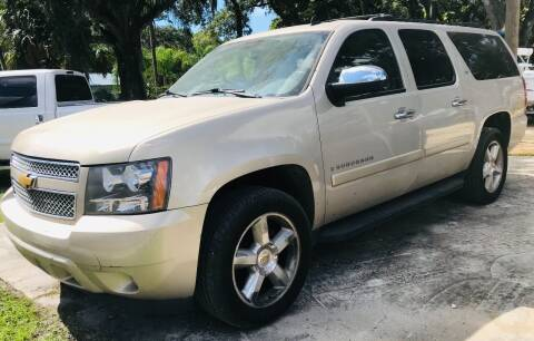 2008 Chevrolet Suburban for sale at Pioneers Auto Broker in Tampa FL