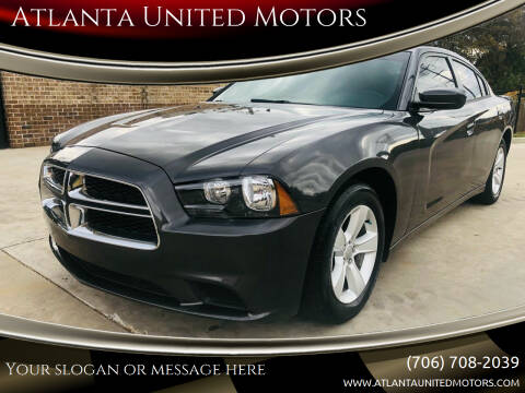 2014 Dodge Charger for sale at Atlanta United Motors in Jefferson GA