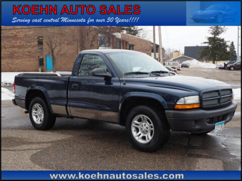 2003 Dodge Dakota for sale at Koehn Auto Sales in Lindstrom MN