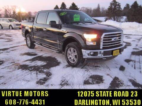 2017 Ford F-150 for sale at Virtue Motors in Darlington WI