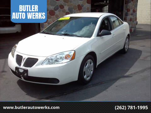 2007 Pontiac G6 for sale at BUTLER AUTO WERKS in Butler WI