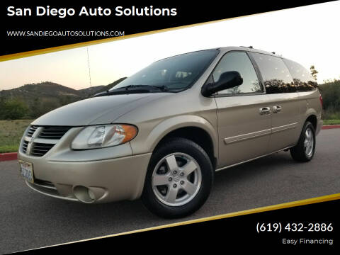 2007 Dodge Grand Caravan for sale at San Diego Auto Solutions in Escondido CA