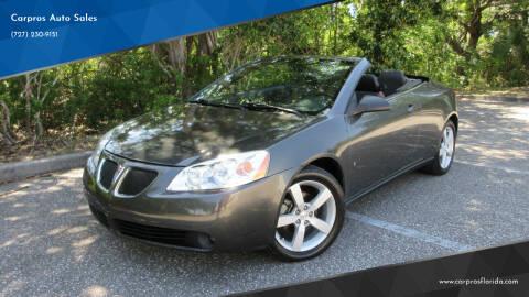 2007 Pontiac G6 for sale at Carpros Auto Sales in Largo FL